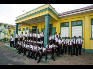 The Alpha Institute has more than 120 boys between the ages of 15-18 years in its skills-training program. The school for under-privileged boys is famous for its musical history.