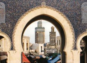 Founded in 789, Fez, Morocco is a holy city of the Sufis and the second largest city in Morocco, famous for its huge medieval walls and architecture.