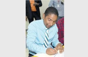 The new Mayor of Kingston Delroy Williams. (Photo: Jamaica Observer)