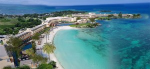 The huge Royalton Negril all-inclusive hotel, to be opened early next year, complete with man-made beach. (Photo: royaltonresorts.com)