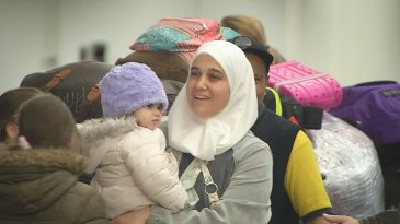 Relieved passengers at San Francisco Airport are released after a Federal Judge issued a stay on President Trump's Executive Order banning citizens from seven mostly Muslim countries. (Photo: Twitter)
