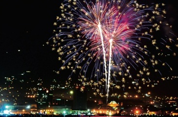 New Year fireworks on the Waterfront in Kingston, Jamaica… Celebrations, but what can we expect this year? (Photo: Bryan Cummings/Jamaica Observer)