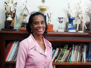Heather Murray, principal of Hampton School in Malvern, St. Elizabeth. (Photo: Adrian Frater/Gleaner) *** Local Caption *** File Murray