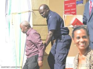 I don't understand why the Principal of the prominent Hampton School for Girls (right) attended the court hearing for Moravian church minister Rupert Clarke (left) today, but hope it is not for the reasons ascribed to her by the media. (Photo: Courtney Locke/Gleaner)
