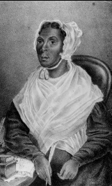 Mrs. Jarena Lee (1783 – 1864) was the first black woman preacher in the African Methodist Episcopal Church.