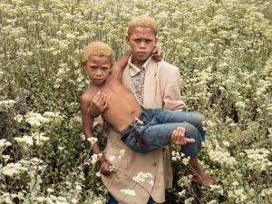 "A photograph from ""1994: Children and the Ghosts of National Trauma"" by Pieter Hugo. (New Yorker/Yossi Milo Gallery, New York)"