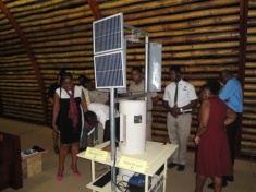 Team Vere Technical High School_Presenting their Product to Judges.