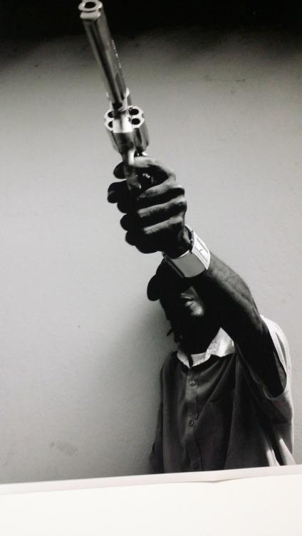 Nothing symbolises danger more than a gun.