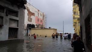 Havana, Cuba after the passage of Irma. (Photo: Facebook)