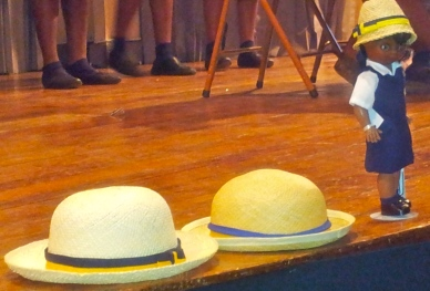 At a heritage event with schools at the Institute of Jamaica a few years ago, students of Westwood High placed their signature round hats at the front of the stage.