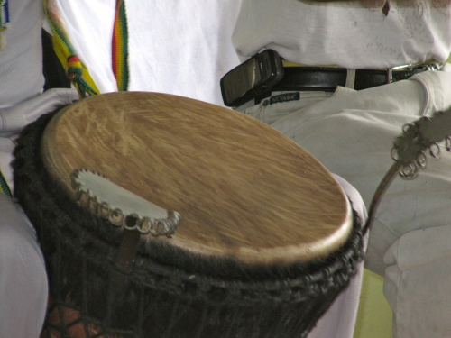 Drums are a part of our heritage. Their rounded shapes are such a common part of our culture. Here is a nice one, in Trench Town.