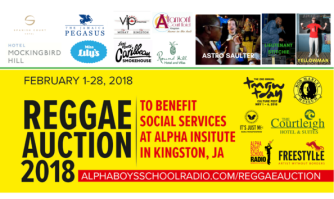 The Reggae Auction is under way! Put your bid in today!