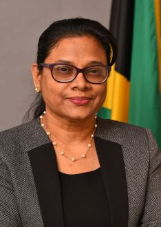 Dr. Jacquiline Bisasor-McKenzie, Acting Chief Medical Officer.