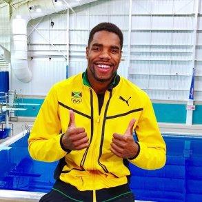 Jamaican diver Yona Knight-Wisdom.