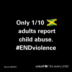 A notice from UNICEF Jamaica.