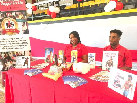 Project Us, National Family Planning Board and Jamaica AIDS Support for Life partnered for Safer Sex Week to spread information on healthy sexual habits. Condoms are safe and sexy!! (Photo: Twitter)