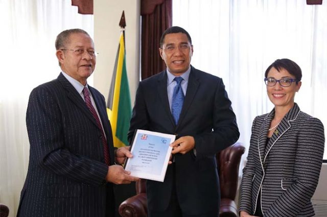 The Tabling of Jamaica's CARICOM Review Commission Report in Parliament