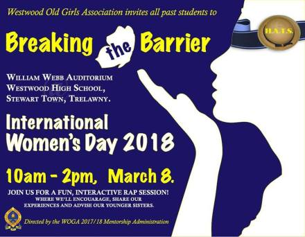 International Women's Day is March 8. One of several events this week.