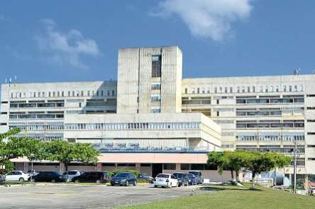 Cornwall Regional Hospital. It's sick. (Photo: Jamaica Observer)