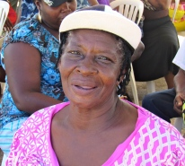 I met this lovely woman in Maggoty, St. Elizabeth during a National Integrity Action event. We enjoyed chatting.