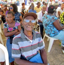 This gentleman was among those citizens of Maggoty, St. Elizabeth at the NIA Information Fair. I would love to have heard his story, too.