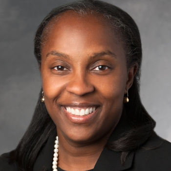 Dr. Odette Harris, Professor of Neurosurgery at Stanford University.