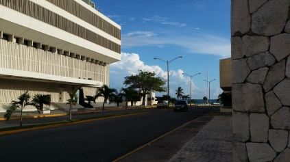 Downtown Kingston.