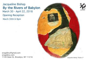 Jamaican artist Jacqueline Bishop's exhibition opened last week in New York. Do go see!