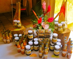 Grenada is an incredibly productive little island. A few years back, I photographed this collection of bee and honey-related products.