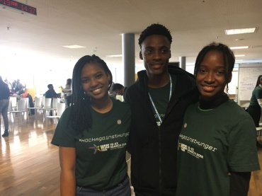 UWI medical student Chinelle Miller and Odain Brown and Juleen Gentles, computing students at UTECH, created an integrated web application and mobile app called, A-grow and won the UN Hackathon for Hunger Competition recently.