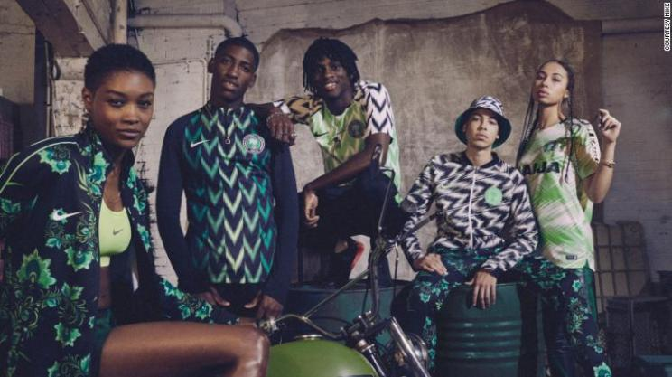 Nigeria's cool football kit got rave reviews, but the youngest team in the tournament looked completely out of their depth against Croatia today.
