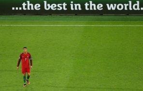 Cristiano Ronaldo is really a one-man team.