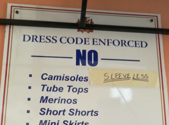 No Written Rules Banning Sleeveless Dresses: An Access to Information Story