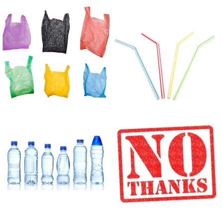 Choose to refuse plastic! Plastic Free July Jamaica.