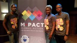 Members of the JN Plus team at the Mpact meeting in Amsterdam earlier this week. (Photo: Twitter)