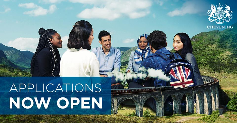 Apply for the Chevening Scholarship 2019/2020