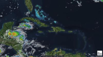 Where is the rain? Today's satellite photo is not encouraging.