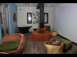 The smoker's room at the new Island Strains herb house on Gloucester Avenue in Montego Bay. Is this aimed at the tourist market, or what? (Photo: Ashley Anguin/Gleaner)