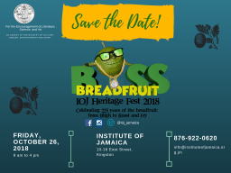 The Breadfruit celebration - Save the Date!