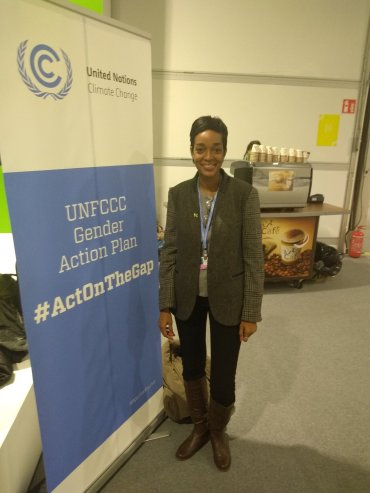 The first ever UNFCCC Gender Action Plan was adopted at COP23. Today we celebrate women as climate activists and champions. #women #ActOnTheGAP #ActOnClimate A tweet from youth representative Jhannel Tomlinson.