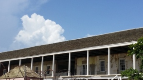 A part of the old hospital in Port Royal - like the whole town, in need of some tender loving care.