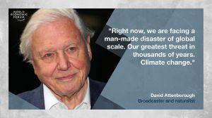 David Attenborough climate change quote