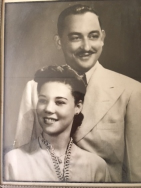 MacMillan's favorite picture of her parents in the 1940s: Vida Juanita Rose and Dudley Guillermo Malcolm MacMillan.