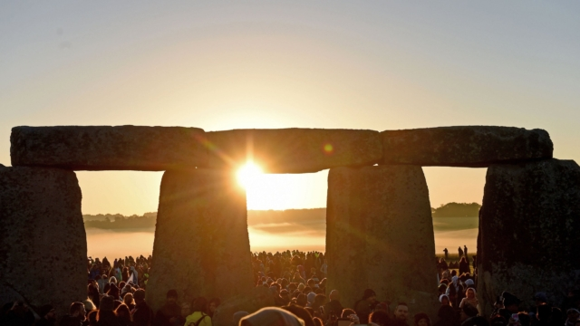 Celebrations Of The Summer Solstice Take Place At Stonehenge
